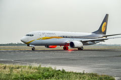 Jet Airways Boeing 737 Stock Photo