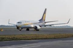 Jet Airways Boeing 737-800 reist ab Lizenzfreies Stockbild