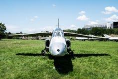 Jet in Aviation Museum in Krakow Stock Images