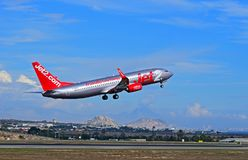 Jet2 Avion de passagers de COM à l'aéroport d'Alicante Image stock
