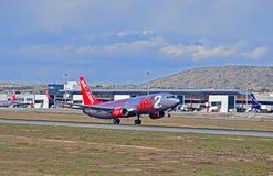 Jet2 Avion de passagers de COM à l'aéroport d'Alicante Photo stock