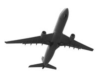 Jet Away. Jet plane in flight Stock Photos