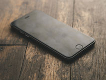 Jet Black Iphone 7 Stock Photos