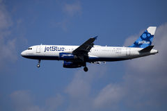 Jet Blue airline passenger jet (Airbus A320) Stock Images