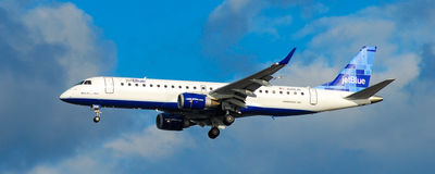 Jet Blue Airlines Foto de Stock
