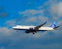 Jet Blue Airlines Foto de archivo libre de regalías