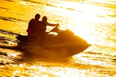 Jet Boat Royalty Free Stock Photography