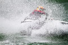 Jet Boat Racing Stock Photography