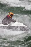 Jet boat racing Stock Photo