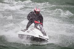 Jet boat racing Royalty Free Stock Photography