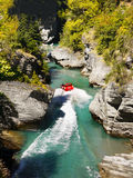 Jet Boat Ride, Shotover River, Queenstown Stock Photography