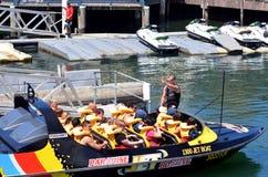 Jet Boat Rides dans l'Australie de la Gold Coast Queensland Photos stock