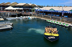 Jet Boat Rides in Gold Coast Queensland Australia Stock Photo