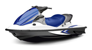 Jet Boat(scooter) Royalty Free Stock Photos