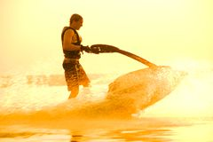 Jet Boat Royalty Free Stock Images