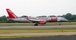 Jet2 Boeing 757 Royaltyfri Foto