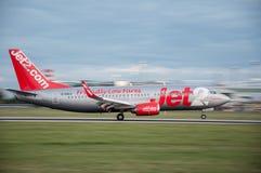 Jet2 Boeing 737 Fotografia Stock Libera da Diritti