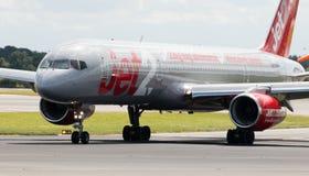 Jet2 Boeing 757 Royaltyfria Foton