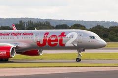 Jet2 Boeing 757 Royaltyfria Bilder