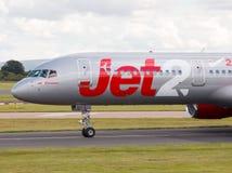 Jet2 Boeing 757 Royaltyfri Bild