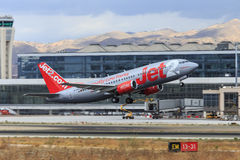 Jet2 Boeing-het opstijgen royalty-vrije stock foto