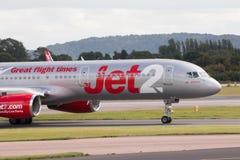 Jet2 Boeing 757 Royalty Free Stock Photo