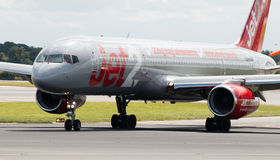 Jet2 Boeing 757 Royalty Free Stock Photos