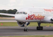 Jet2 Boeing 757 wakacje Obraz Royalty Free