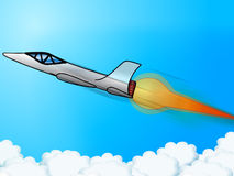 Jet booster Royalty Free Stock Images