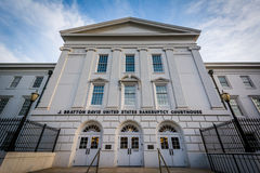 Jet Bratton Davis United States Bankruptcy Courthouse, i Colu Royaltyfria Foton