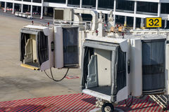 Jet Bridge Stock Photo
