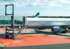 Jet bridge. Stock Photo
