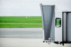 Jet bridge Royalty Free Stock Images
