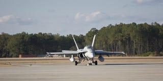 Jet che readying per il decollo Fotografia Stock Libera da Diritti
