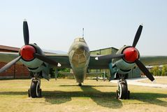 Jet classico del bombardiere Fotografia Stock