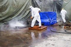 Jet Cleaning Imagenes de archivo