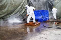 Jet Cleaning Stock Images