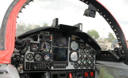 Jet cockpit Stock Images