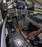 Jet-Cockpit Lizenzfreie Stockfotografie