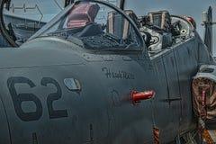 Jet-Cockpit Hawk Mks 120 lizenzfreie stockbilder