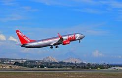 Jet2.Com Passenger Plane At Alicante Airport Stock Image