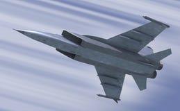 Jet-combattant Photographie stock libre de droits