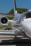 Jet comercial fotos de archivo