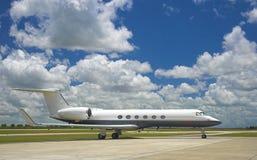 Jet corporativo Imágenes de archivo libres de regalías