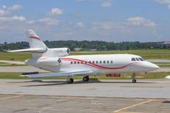 Jet corporativo de lujo fotos de archivo libres de regalías