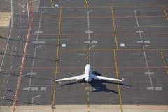 Jet d'affaire privée Photo stock