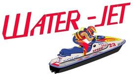 Jet d'eau Image libre de droits