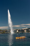 Jet d'eau, Geneva, Switzerland Royalty Free Stock Photography