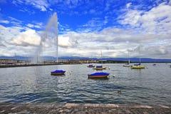 Jet d'eau, Geneva, Switzerland Stock Image