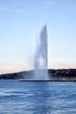 Jet d eau Stock Photo